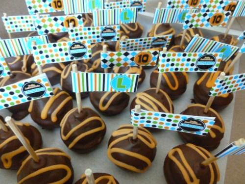 cakepops de chocolate